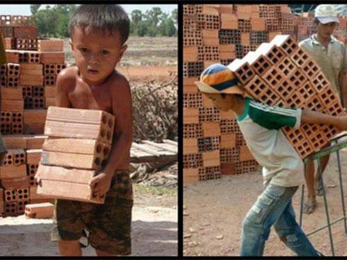 Sử dụng lao động là trẻ em dưới 15 tuổi